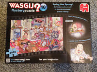 "Wasgij Mystery Puzzle No 10 ""Spring Has Sprung"" 1000pcs"