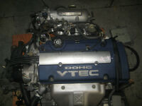 97 01 HONDA ACCORD PRELUDE F20B DOHC VTEC ENGINE 5SPEED TRANS