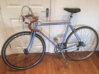 Vintage road bike Peugeot