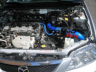 Racing CAI Cold Air Intake MAZDA Protege/5 1.5L 1.6L/1.8L/2.0L Reusable Filter