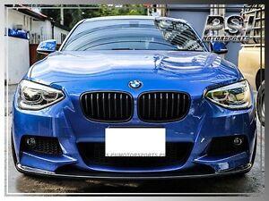 3D Type Carbon Fiber Front Lip For 2012-2014 BMW F20 116i 118i 125i w/ M SPORT