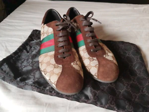 Authentic like new Gucci Icon monogram shoes