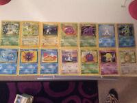 Damaged Pokemon cards