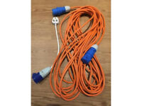 25m Caravan Hook-up Extension Lead (and Adapter)