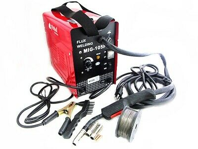 90 Amp Mig 100 Auto Feed Flux Mig Welding Machine Tool No Gas Welder Tools 110v