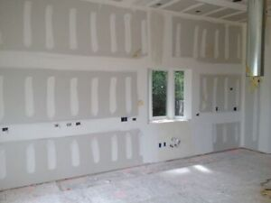 Drywall and taping jobs