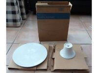Pampered Chef Cake Stand made in Ceramic Brand new in box