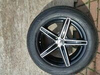 Barely used Rims and Tires for sale