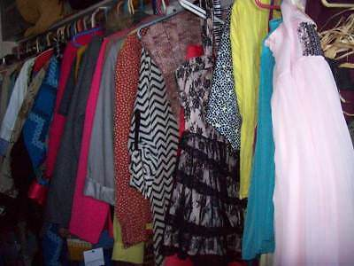Clothing Lot Resale Clothes New XLNT Used Vintage Womens Jrs Ladies Some Mens