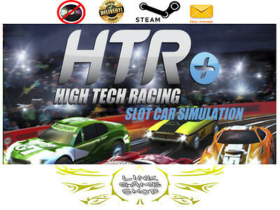 HTR+ Slot Car Simulation PC & Mac Digital STEAM KEY - Region Free