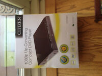 CITIZEN DVD PLAYER/ BRAND NEW IN BOX!