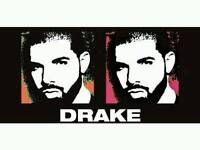 x2 Seated Drake Tickets 15th February o2 Arena (Valentines Present)