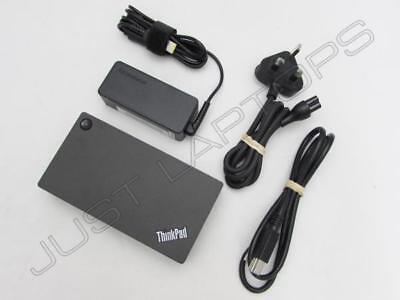Lenovo ThinkPad X260 Miix 310 510 USB 3.0 Docking Station Port Replicator w/ PSU