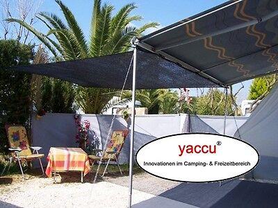 YACCU® 5x4m CAMPING SCHATTENTUCH VORZELT WOHNWAGEN SANDKASTEN SONNENSEGEL NEU