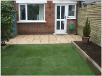 Experienced landscape gardener, fencing, decking, lawns,paving, courtyards, tidy ups, repairs etc