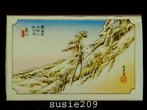 Vintage-Mid-Century-Japanese-Matchbox-with-Scenery-Sence-3