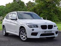 BMW X1 xDrive 18d M Sport 5dr (white) 2011