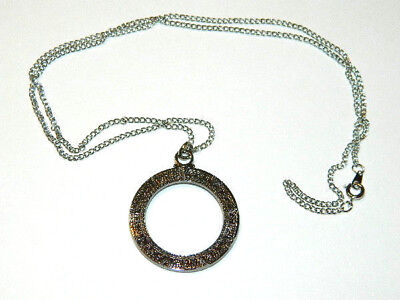 Stargate Atlantis Star Gate Metal Necklace w Chain- Mailed from USA