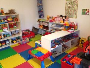 Daycare, West Island! 7.75$/day (right off of HWY40)