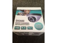 CCTV dome camera - waterproof with night vision