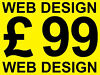 ✭ Website Design £99 includes logo, domain name & hosting ✭ Offer Available Nationwide, Luton
