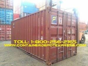 New and Used Shipping Containers for Rent or Purchase!!!