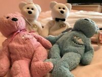4 Marriage/Baby TY Beanies for sale  Torquay, Devon