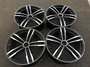 "Set of 18"" aftermarket rims in good used condition"