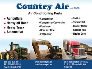 HEAVY EQUIPMENT AIR CONDITIONING PARTS