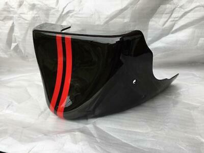 TRIUMPH  ROCKET 3  PHANTOM  BLACK & RED BELLY PAN  FIBREGLASS