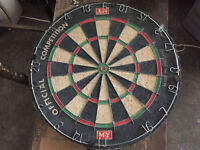 M-Y Official Competition Dart Board - Made In England