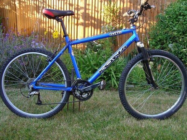 Kona NuNu, Blue, good condition, 7005 double butted alu, Shimano Deore,  Kalloy, RockShox Jett forks | in Norwich, Norfolk | Gumtree