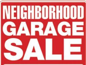 Neighbourhood Street Sale!