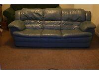 leather sofa / suite