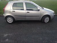 Fiat punto 1.2cc 2003 grey spares or repair. In Fishponds