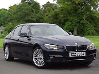 BMW 3 SERIES 320d BluePerformance Luxury 4dr (blue) 2012