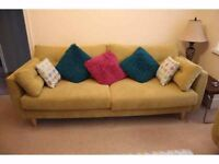4 seater sofa from DFS 2 years old