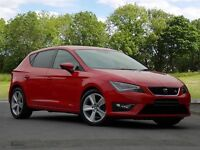 SEAT LEON ECOTSI FR TECHNOLOGY (red) 2016