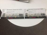 Bastille tickets x2