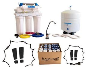 Aqua Safe Canada 6 stage Reverse osmosis combo kit
