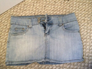 Women shorts and skirts