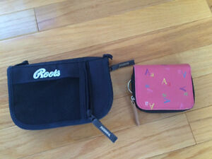 ROOTS wallet and change purse