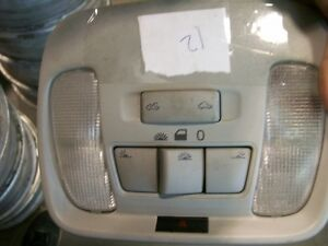 Volvo S40 V40 2000-2004 Interior Dome Light With Sunroof Switch