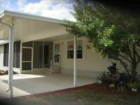 """ATTN. SNOWBIRDS"" FLORIDA RENTAL  55+ MOBILE HOME (APR. & MAY)"
