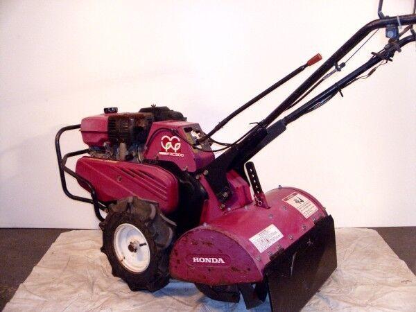 Rear Tine Roto Tiller Lawn Cultivator Honda Frc800 Walk Behind Commercial Engine
