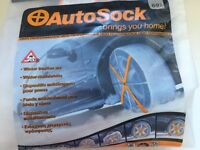 Auto sock, ideal to keep in car in case of snow on roads