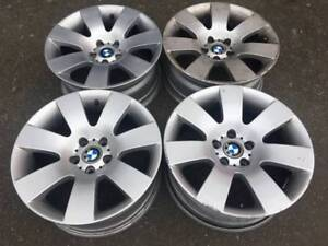 "Set of OEM Genuine BMW 18"" Rims in good used condition E60"