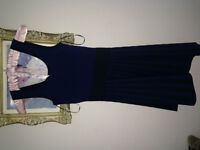 Size Xs  Blue and Black Guess Dress