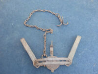 Antique Bear Trap With Hook
