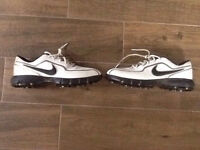Nike Golf Shoes, Size 8